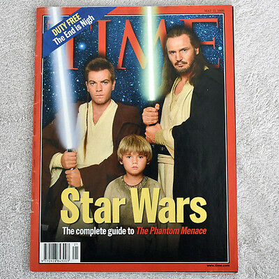 "TIME Magazine: ""Star Wars: The Complete Guide to The Phantom Menace"" May 31 1999"
