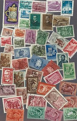 #7724 HUNGARY Lot/Collection Used Stamps Combine Shipping
