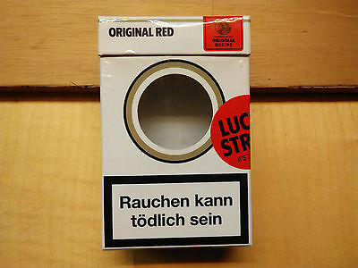 Lucky Strike Original Red Limited Edition Germany 2007 with hole (empty box)