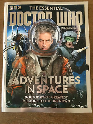 BBC The Essential Doctor Who Bookazine #14 Adventures in Space