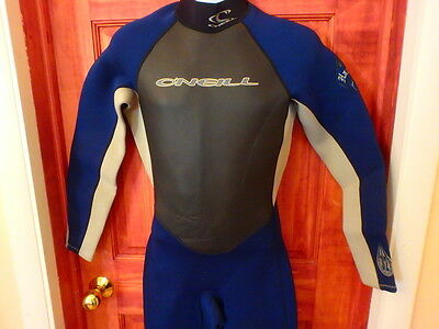 O'Neill Hammer Full Wetsuit Size Large 3/2mm Scuba Diving Body Suit
