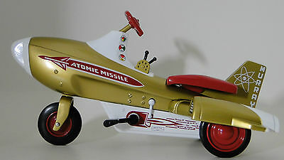 Pedal Car Rare Rocket Jet Air Space Craft Ship Missile Metal Midget Show Model