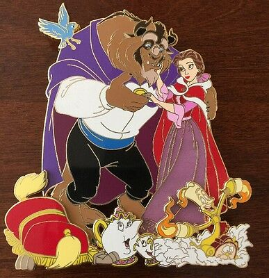 Beauty and the Beast ACME tribute fantasy pin  Disney auction limited 50 Belle