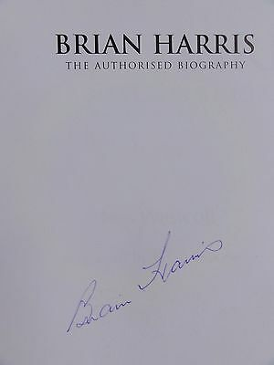 BRIAN HARRIS - The Authorised Biography - SIGNED - Everton