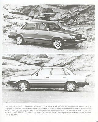 1981 Subaru Four Door GL Factory Photo ub4865