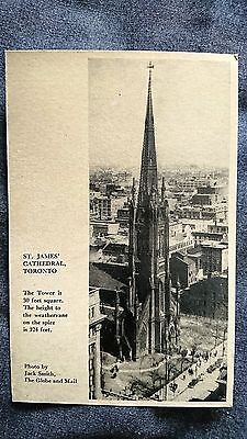 Postcards - St. James' Cathedral, Toronto (P170105)
