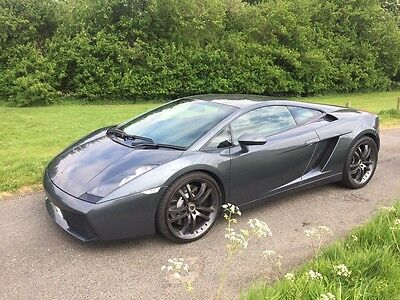 Lamborghini Gallardo Manual 5.0 V10 2006 Summer supercar bargain! No reserve!