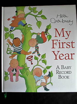 Helen Oxenbury My First Years Keepsake Book, Record Book, Journal