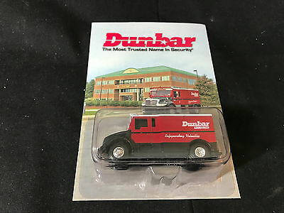 MIB Diecast Dunbar Armored Toy Truck The Most Trusted Name In Security