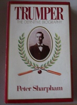 Trumper The Definative Biography by Peter Sharpham Pub in Aus 1st 85 FREE P&P UK