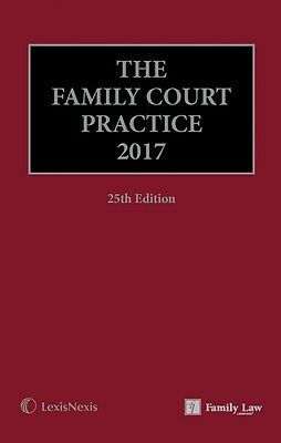 The Family Court Practice 2017 Wrapped(Red Book) 25th Edition BRAND NEW RRP £498