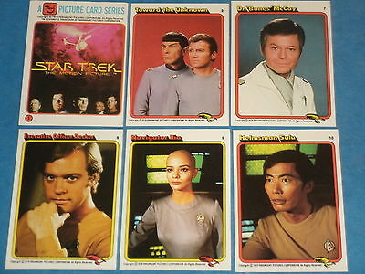 STAR TREK 'THE MOTION PICTURE' Complete 55 Card Base Set Of Trading Cards 1979