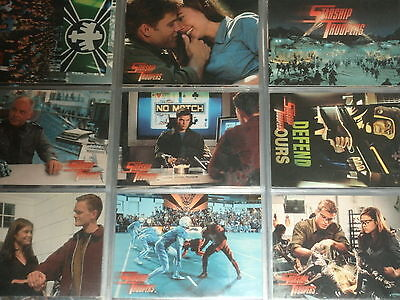 STARSHIP TROOPERS 'The Movie' Complete 81 Trading Card Base Set Inkworks 1997