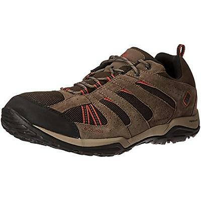 Columbia 6347 Mens North Plains Drifter Brown Hiking, Trail Shoes 12 Medium (D)