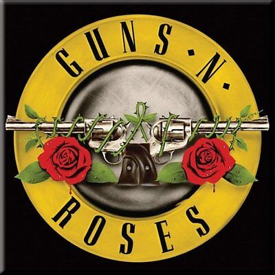 Collectable Guns N Roses Fridge Magnet - Classic Logo - Officially Licensed