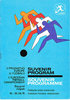 1976 European Championships Tournament Programme
