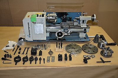 Little Machine Shop 4200 HiTorque 7x12? Mini Lathe Machine +Lots Of Tool Extras