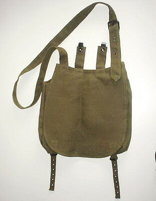 Austrian AUSTRIA ARMY WW1 REPRO OLIVE BREAD BAG EARLY TO MID WAR heavy material