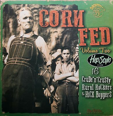 Va. Corn Fed Lp Vol 2 -16 Killer Hillbilly & Rockabilly Rare Tracks Vol 1 Sold