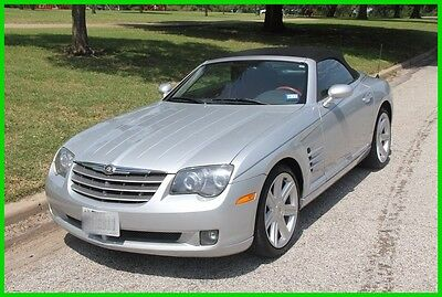 2007 Chrysler Crossfire Limited 2007 Chrysler Crossfire Limited 3.2L V6  6 Speed Manual Convertible, Low Price!