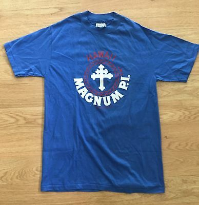 RARE authentic VINTAGE original MAGNUM P.I. HAWAII cotton Tee SHIRT M