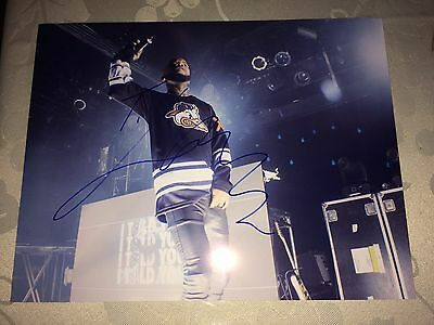 Tory Lanez Autographed Signed 8.5x11 Photograph Blank