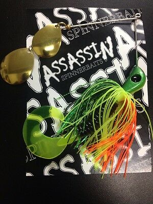 Assassin Spinnerbaits murray cod and yellowbelly 1 X One Ounce #220