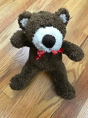 Russell Stover Teddy Bear Valentines Day Gift Plush Stuffed Animal