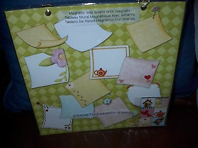 Mary Engelbreit Magnetic Wall Board With 6 Magnets-New-Mary & Company
