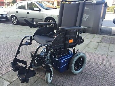 Silla eléctrica Invacare fox plegable