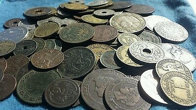World foreign mixed coins Treasure hunt pre 1939.