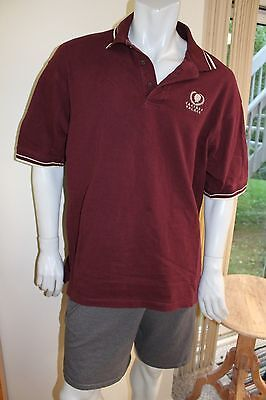 Caesar's Palace XL Burgundy polo shirt