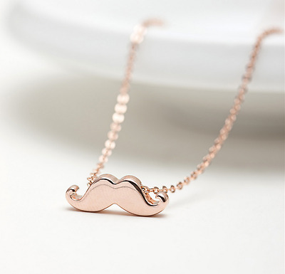 """Super Adorable Sweety /""""Little Daisy/"""" Pendant Rose Gold GP Necklace"""