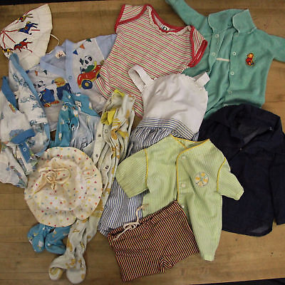 Lot of Vintage Kids Clothes 1950s 60s Baby Girl Boy Unisex Levis Winnie The Pooh