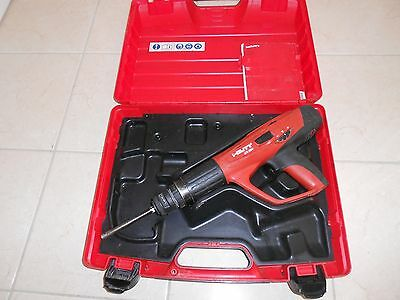 Hilti Dx 460 Powder Actuated Nail Gun With Hilti X-460 Fie-L Fastener Guide