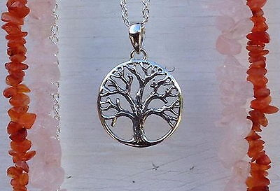 662 tree of life pendant Solid 925 Sterling Silver rrp $39.95