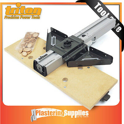 """Triton Biscuit Jointer Suits 1/4"""" & 1/2"""" Routers TRI-BJA300"""