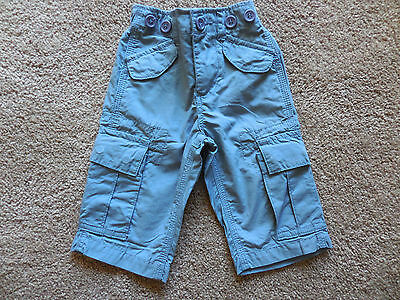 BOYS QUALITY SEED PANTS - SIZE 0-3mths - 100% COTTON - EXCELLENT CONDITION