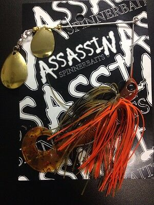 Assassin Spinnerbaits murray cod and yellowbelly 1 X 5/8 OZ #1