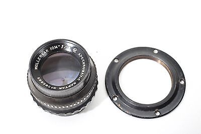 Wollensak 10¼ inch f10 Apochromatic Raptar Large Format Camera Black Lens+BEAUTY