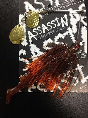 Assassin Spinnerbaits murray cod and yellowbelly 1 X 5/8 OZ #4
