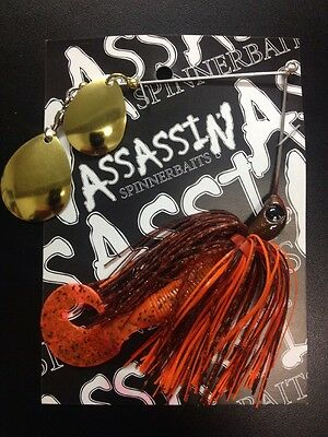 Assassin Spinnerbaits murray cod and yellowbelly 1 X 5/8 OZ #110