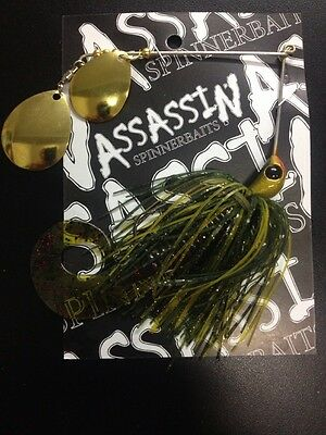 Assassin Spinnerbaits murray cod and yellowbelly 1 X 5/8 OZ #28