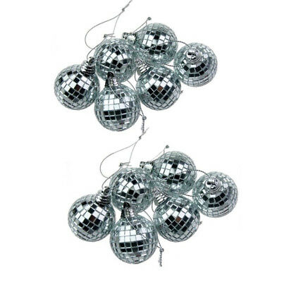 Large 20cm Mirror Glass Disco Ball DJ Dance Home Party Bands Club Stage Lighting
