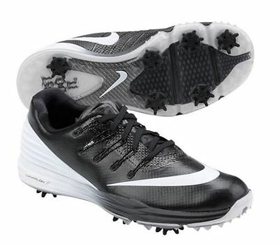 Nike Women's Lunar Control 4 Wide Golf Shoes 819035 Black White , WIDE SIZES