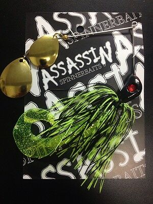 Assassin Spinnerbaits murray cod and yellowbelly 1 X One Ounce #41
