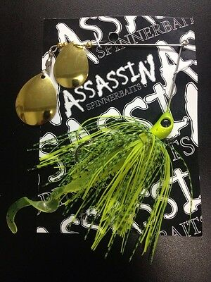 Assassin Spinnerbaits murray cod and yellowbelly 1 X 5/8 OZ #33