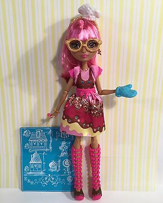 Ever After High Doll Sugar Coated Ginger Bread House Loose