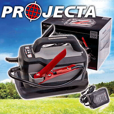 New Projecta 12 Volt 1500A Portable Powerful Lithium Jump Starter Booster Is1500