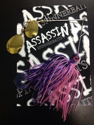 Assassin Spinnerbaits murray cod and yellowbelly 1 X 5/8 OZ #81